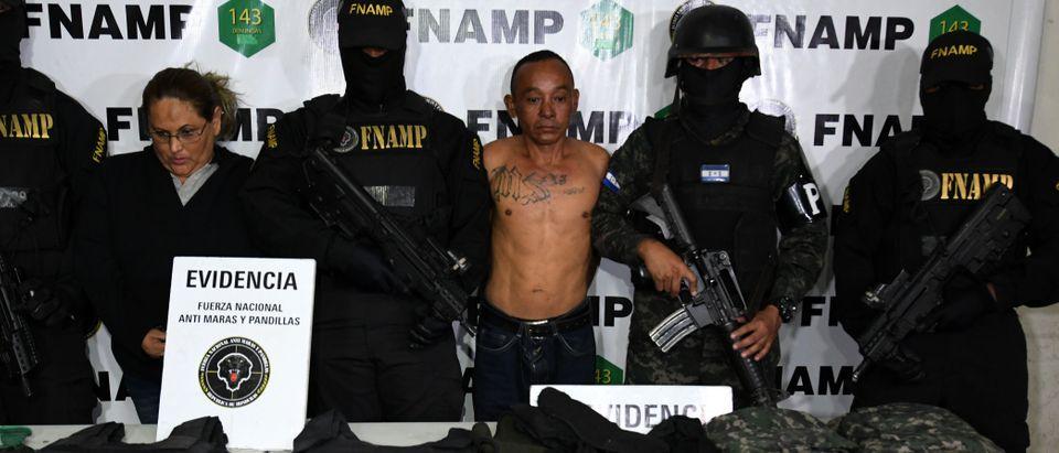 HONDURAS-CRIME-GANG