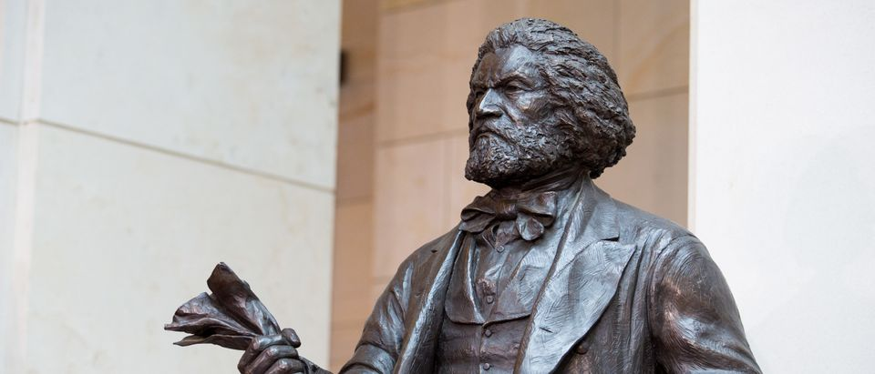 Congressional Leaders Dedicate Frederick Douglass Statue At US Capitol