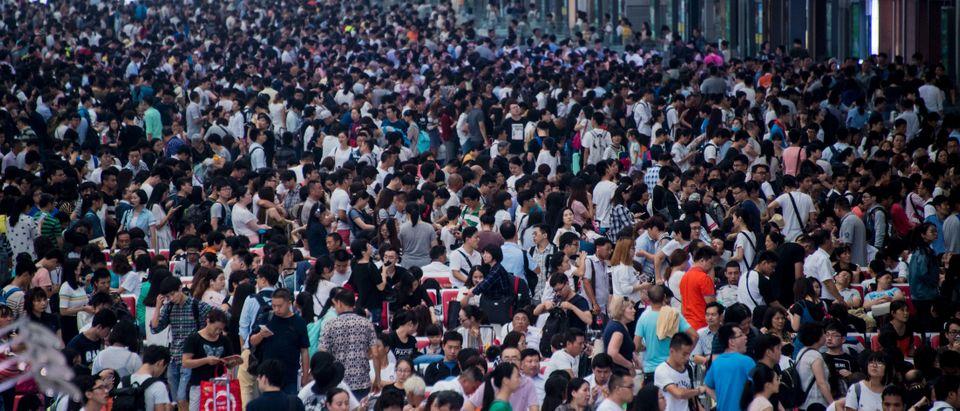 CHINA-POLITICS-NATIONAL DAY