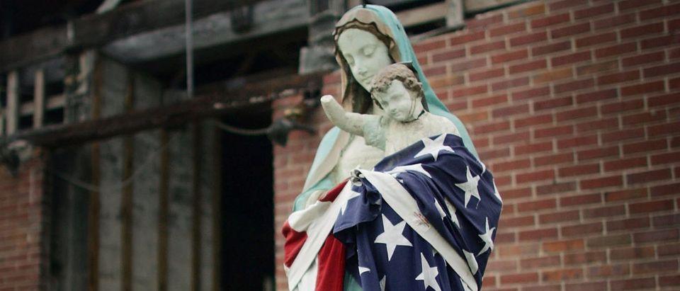 Lower Ninth Ward Churches Abandoned After Katrina