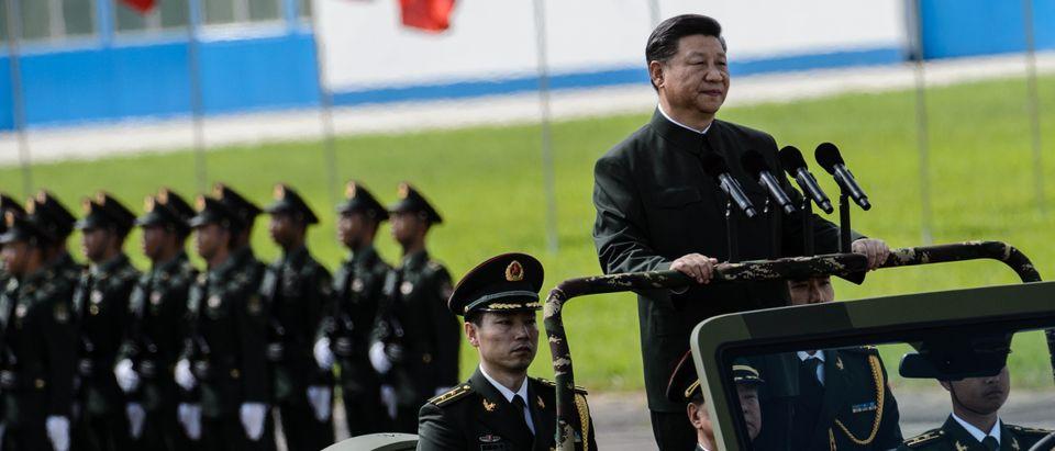 HONG KONG-CHINA-POLITICS-HANDOVER