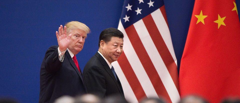 TOPSHOT-CHINA-US-TRUMP-POLITICS-DIPLOMACY