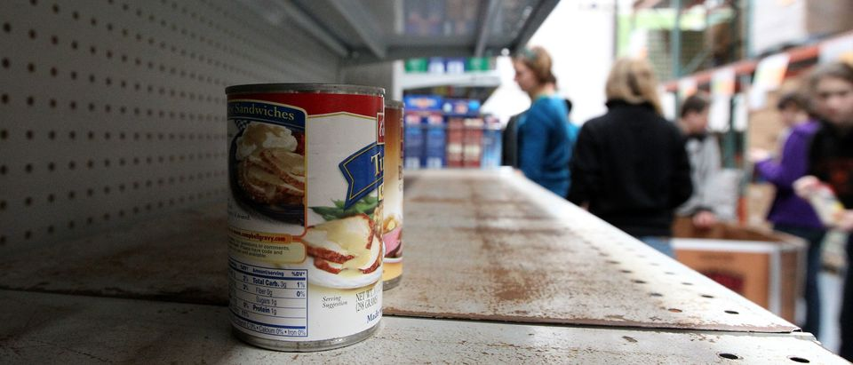 Food Banks Experiencing High Demand In Approaching Holiday Season