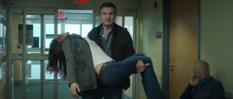 Watch Liam Neeson In The Trailer For His New Movie Honest Thief The Daily Caller