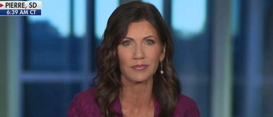 Kristi Noem on schools reopening in South Dakota (Fox News screengrab)