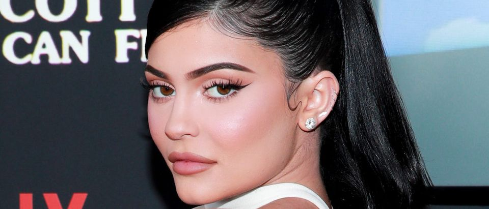 """Kylie Jenner attends the premiere of Netflix's """"Travis Scott: Look Mom I Can Fly"""" at Barker Hangar on August 27, 2019 in Santa Monica, California. (Photo by Rich Fury/Getty Images)"""