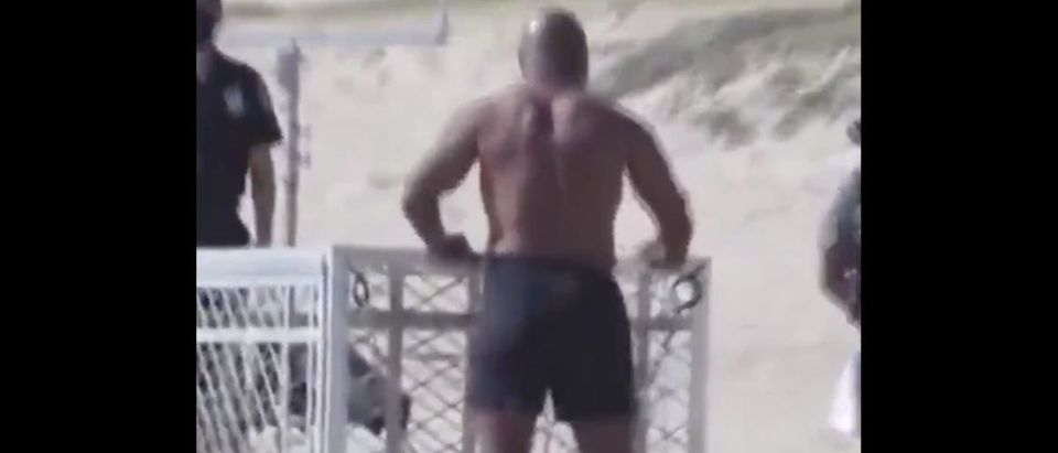 Mike Tyson (Credit: Screenshot/Twitter Video https://twitter.com/bleacherreport/status/1279633174872510464?s=21)