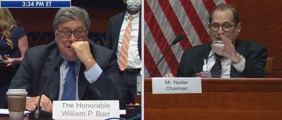 Nadler tries to deny Bill Barr a bathroom break (Fox News screengrab)