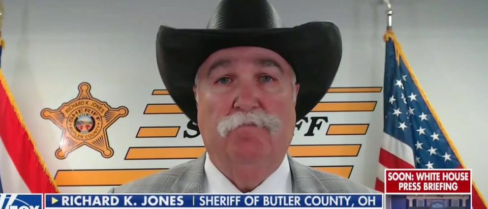 Ohio sheriff will not enforce mask mandate (Fox News screengrab)