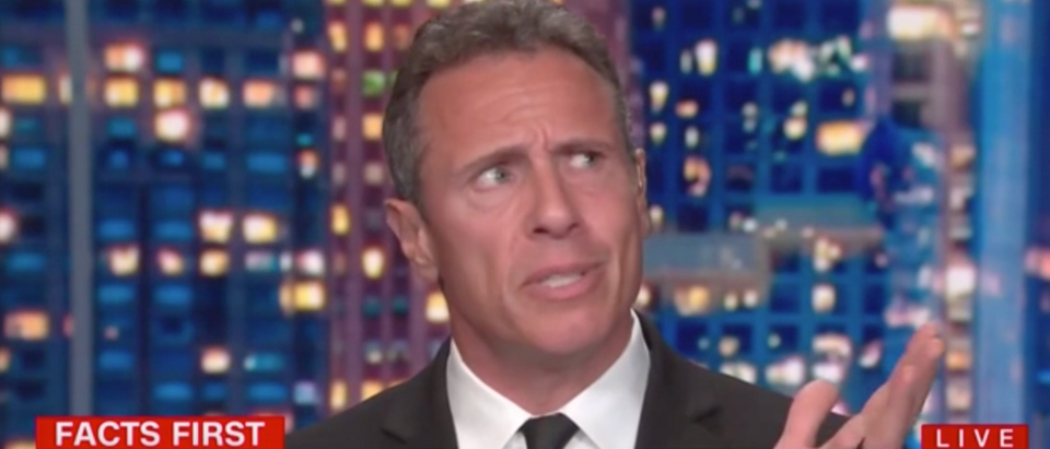 Chris Cuomo blamed rise in homicides on states reopening. (Screenshot CNN, Cuomo Prime Time)