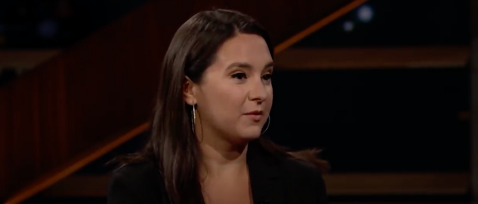 Bari Weiss resigned from the NYT Tuesday. (Screenshot YouTube Real Time with Bill Maher)