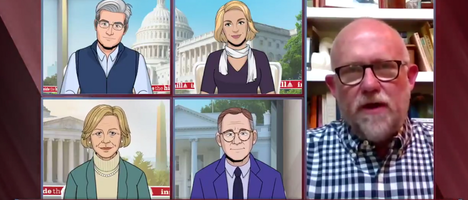 Lincoln Project's Rick Wilson Gets Trolled By Cartoon Interviewers