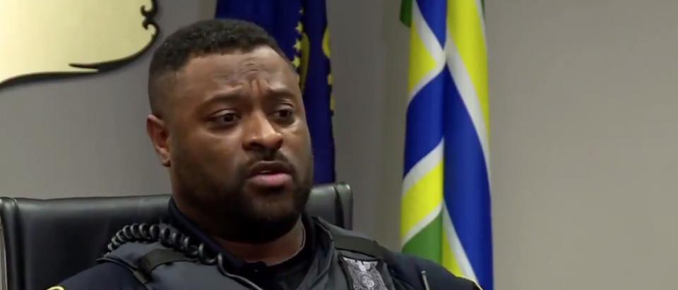 Portland police officers on protests, Black Lives Matter