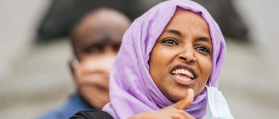 Rep. Ilhan Omar Holds News Conference To Discusses Changes Required To Address Systemic Racism