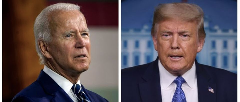 Joe Biden, Donald Trump (Getty Images, Daily Caller)