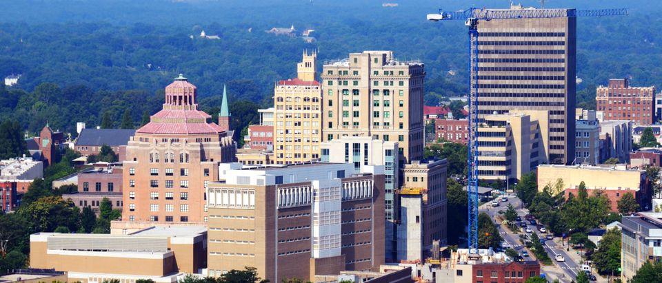 Asheville skyline (Shutterstock/Sean Pavone)