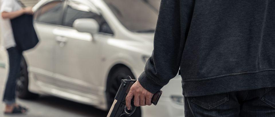 Carjacking (Shutterstock/Jub-Job)
