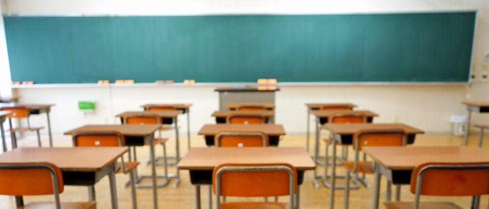 Stock image of a classroom (Shutterstock/Maroke)
