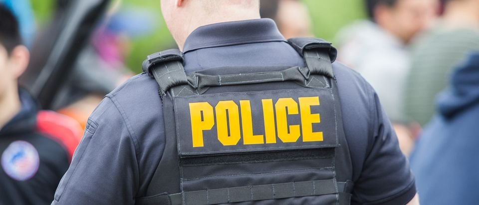 Police officer (Shutterstock/Photo Spirit)