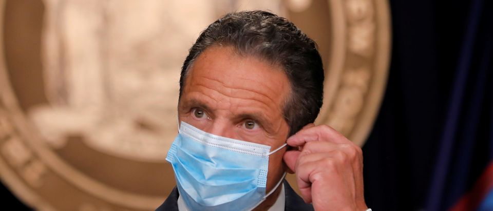 New York Governor Andrew Cuomo holds daily briefing following the outbreak of the coronavirus disease (COVID-19) in New York