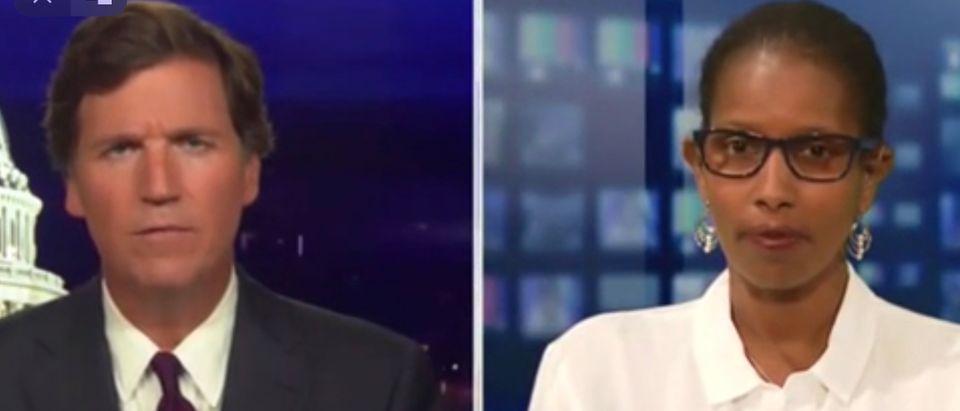 Tucker Carlson, Ayaan Hirsi Ali
