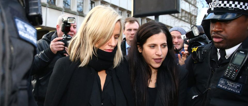 Caroline Flack Appears In Court Charged With Assault