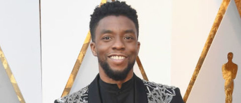 HOLLYWOOD, CA - MARCH 04: Chadwick Boseman attends the 90th Annual Academy Awards at Hollywood & Highland Center on March 4, 2018 in Hollywood, California. (Photo by Frazer Harrison/Getty Images)