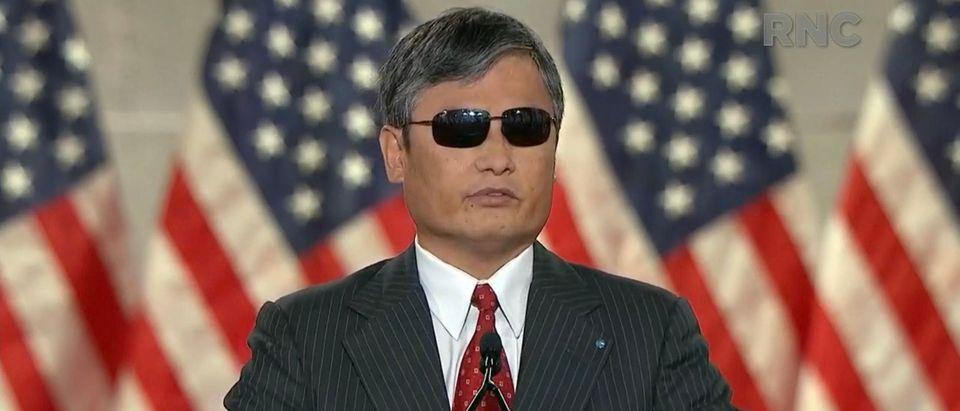 Chen Guangcheng. (Daily Caller)
