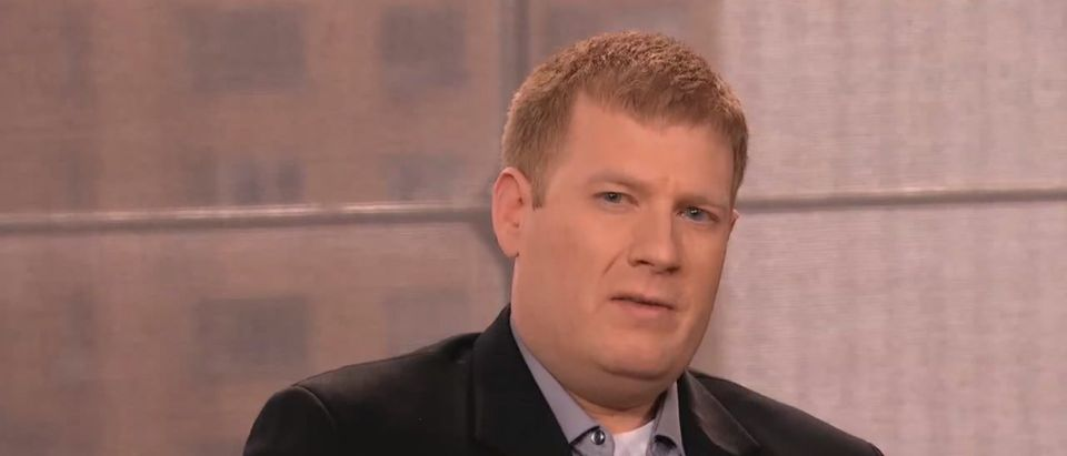 """Cyrus Sullivan appears on Anderson Cooper's syndicated talk show, """"Anderson Live,"""" in 2012. (Screenshot/Youtube)"""