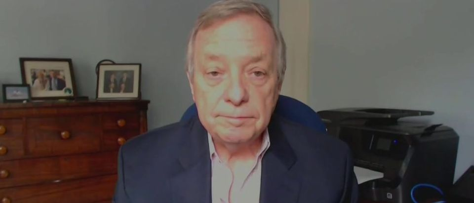 Dick Durbin talks about Trump's EOs (NBC screengrab)