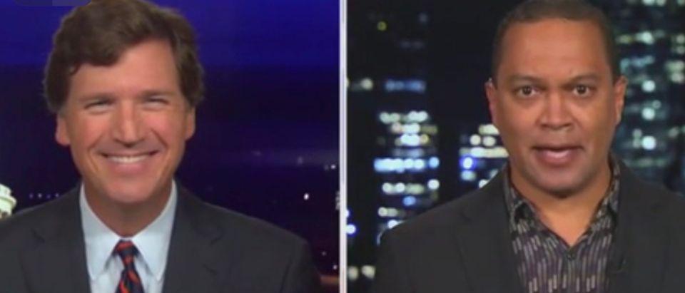 Tucker Carlson and Jason Hill
