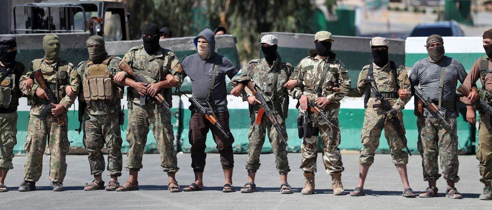 SYRIA-CONFLICT-TURKEY-UNREST-DEMO
