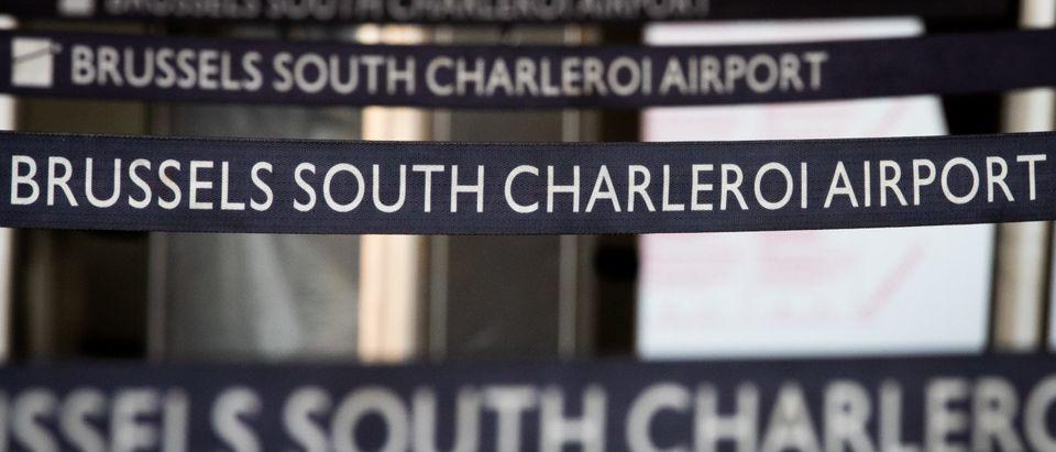 CORONA VIRUS CHARLEROI AIRPORT DESINFECTION