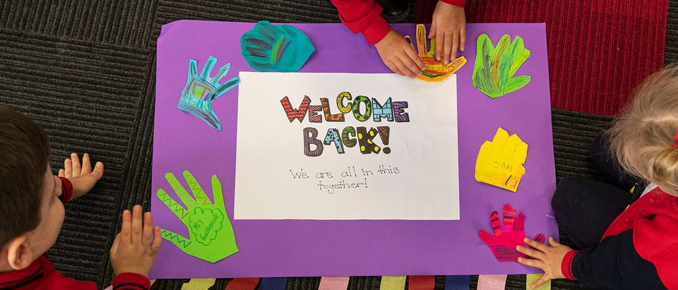 Students Return To School As Victoria Begins Staged Return To Classroom Learning
