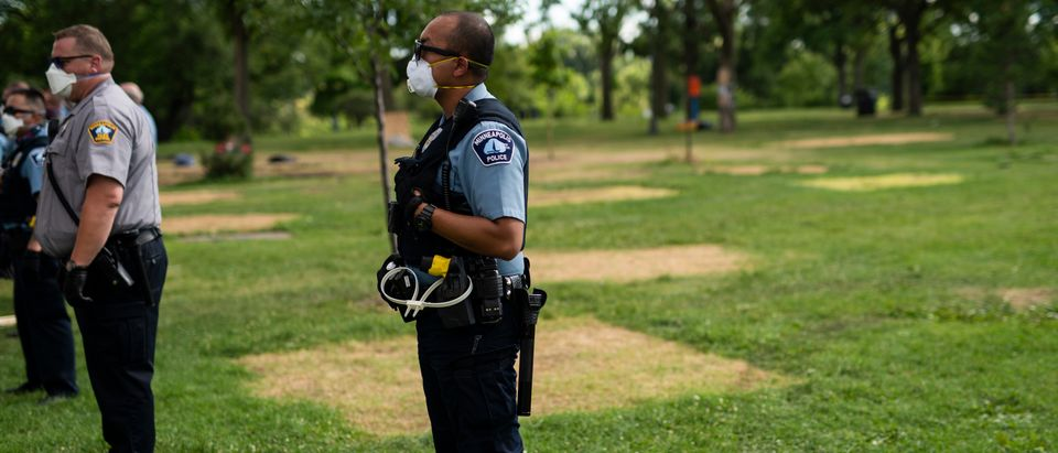 Minneapolis Police Attempt To Evict Homeless From Park Encampment