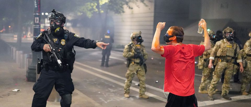 Feds Attempt To Intervene After Weeks Of Violent Protests In Portland