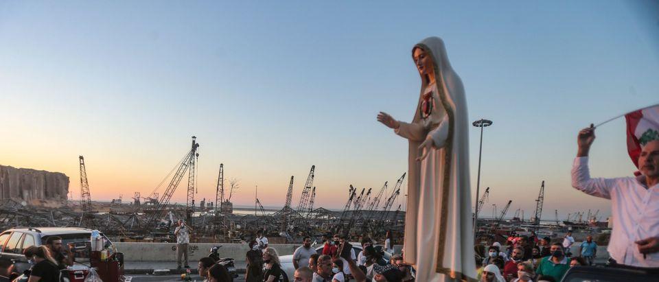 TOPSHOT-LEBANON-BLAST-RELIGION