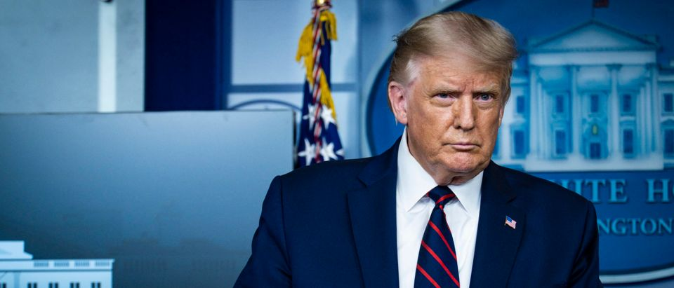 President Trump Holds A News Conference On Administration's Covid Response