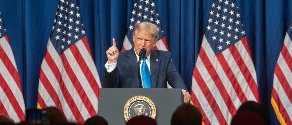 Trump Addresses Virtual 2020 Republican National Convention