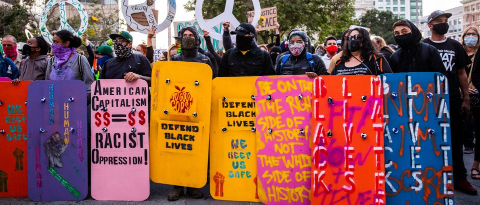 Protesters In Oakland Gather In Solidarity With Portland Activists