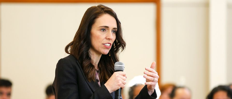 Prime Minister Jacinda Ardern Attends Events In Wellington