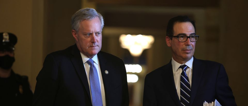 Negotiations Over Second Coronavirus Relief Bill Continue On The Hill