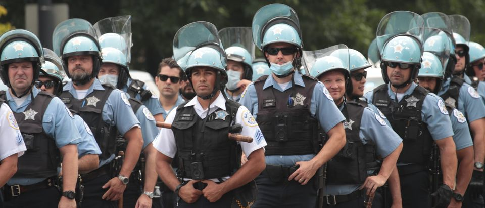 Protests Across Chicago For and Against Police