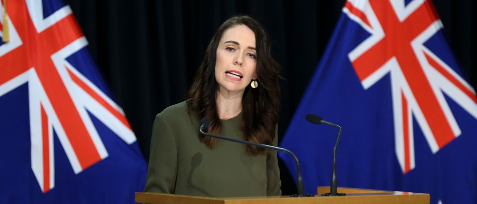 Prime Minister Jacinda Ardern Provides Update On Upcoming Election As New Zealand's COVID-19 Restrictions Remain In Place