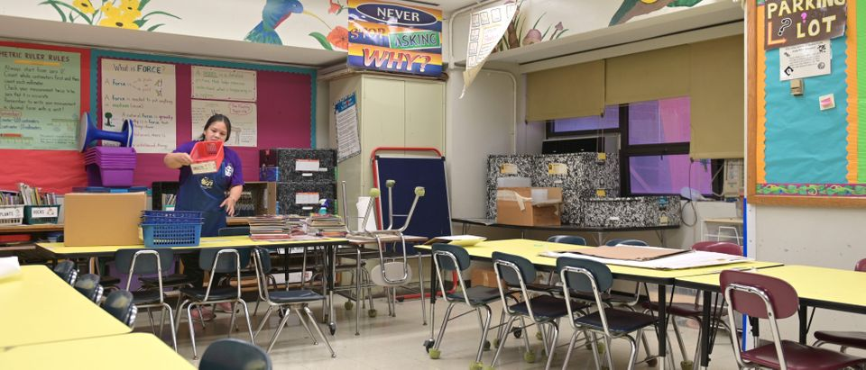 New York Public School Teachers And Officials Prepare Classrooms For Start Of School Year