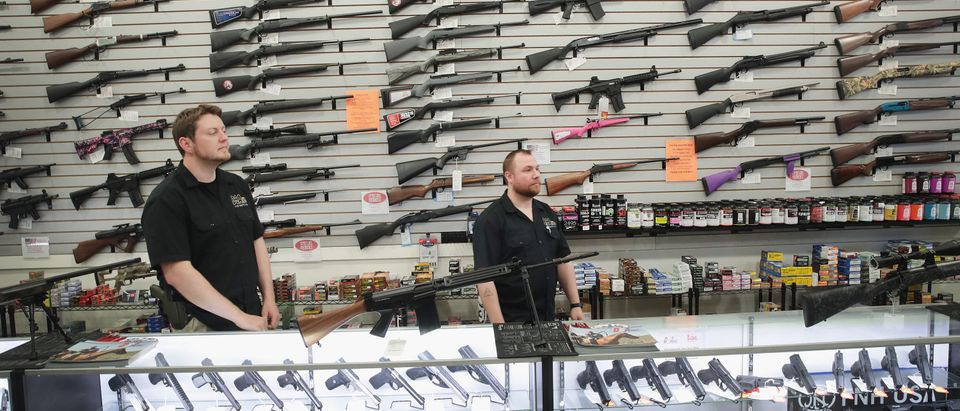 Activists Hold Protest At Rifle Manufacturer In Illinois