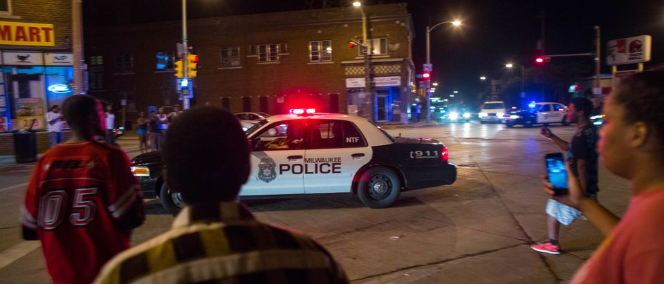 Tensions High In Milwaukee Night After Police Shooting Of Armed Suspect Sparks Violence In City