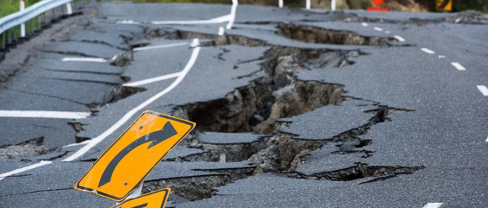 TOPSHOT-NZEALAND-EARTHQUAKE