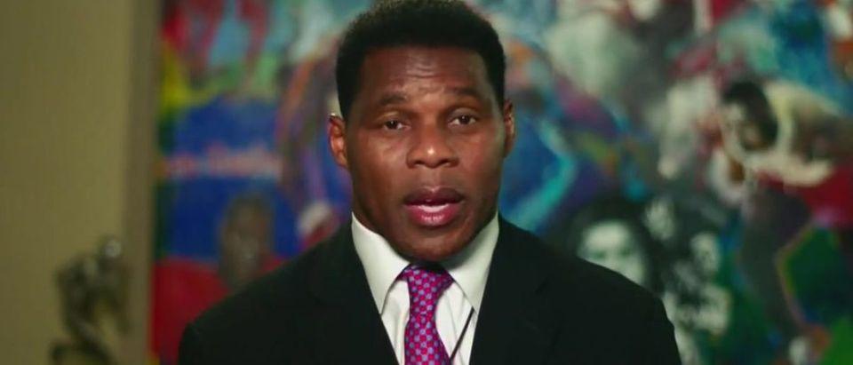Herschel Walker speaks at RNC (Fox News screengrab)