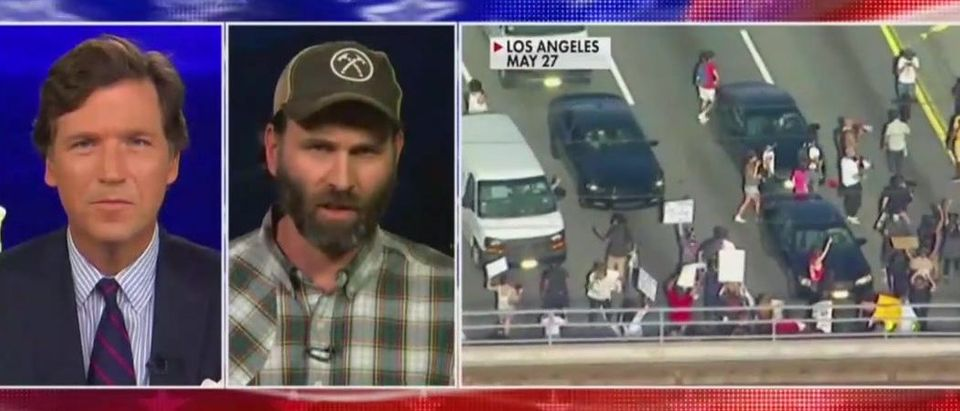 Jack Carr discusses what to do if confronted by rioters (Fox News screengrab)